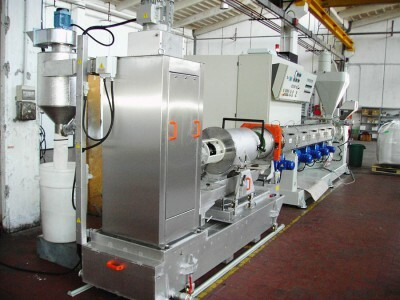 Granulation and recycling lines